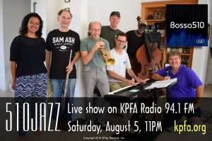 510JAZZ Live Show at KPFA Radio