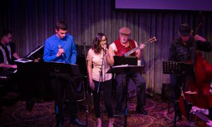 510JAZZ featuring vocalists Nick Neira and Kristen Nicole
