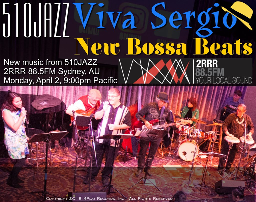 Listen to 510JAZZ on Radio 2RRR 88.5 FM Sydney, Australia