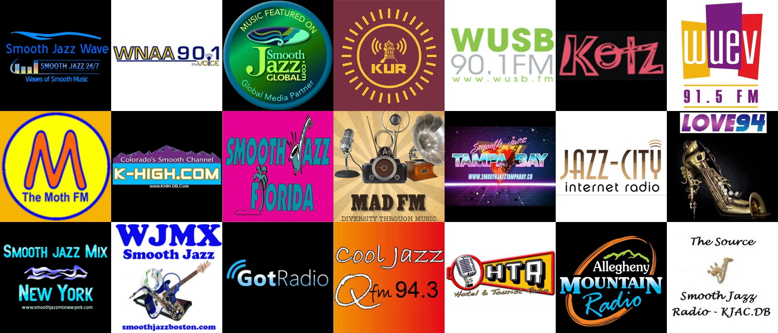 510JAZZ was heard on 21 radio stations during the week of August 27.