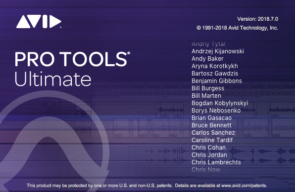 Pro Tools Ultimate 2018
