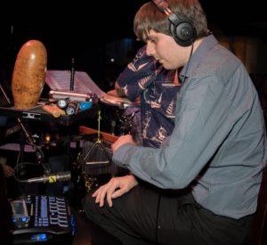 Chris Koraltan (latin percussion - Angelicas 7-14 show)