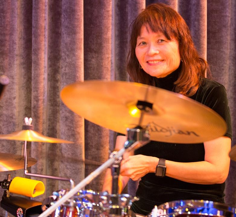Collette d'Almeida (drums)