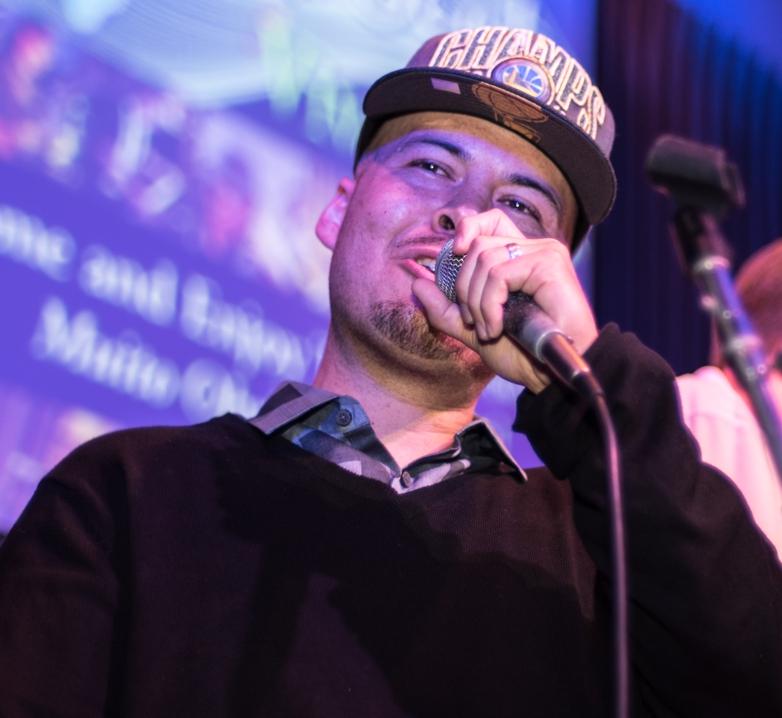 D-Varg (host, vocals - Angelicas 7-14 show)