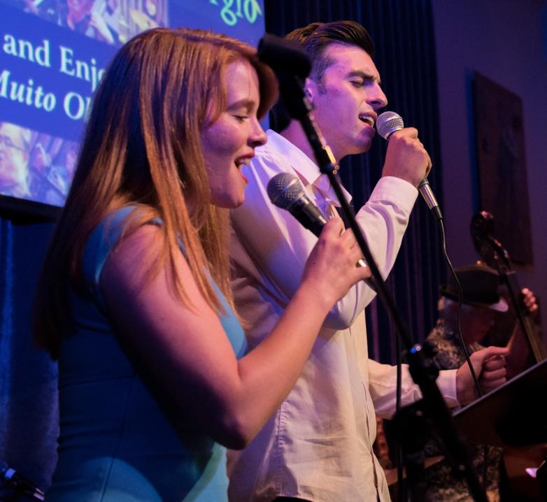 Rebecca Holtz and Nick Neira (vocals - Angelicas 7-14 show)