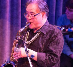 Steve Nakano (sax, flute, clarinet, congas)