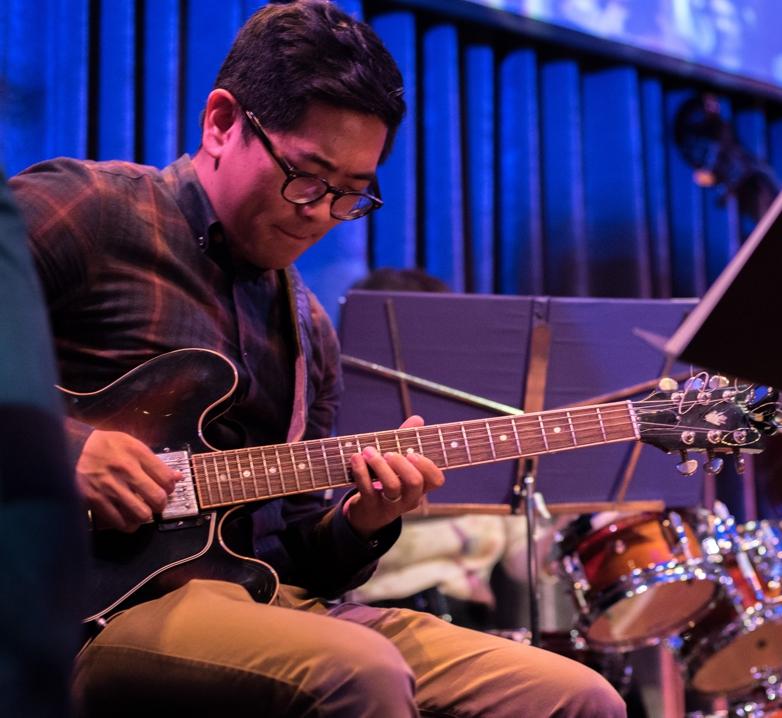 Tony Song (guitar, Angelicas 7-14 show)