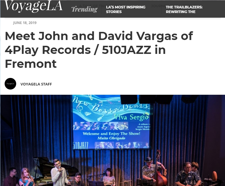 John and David Vargas are featured in VoyageLA Magazine