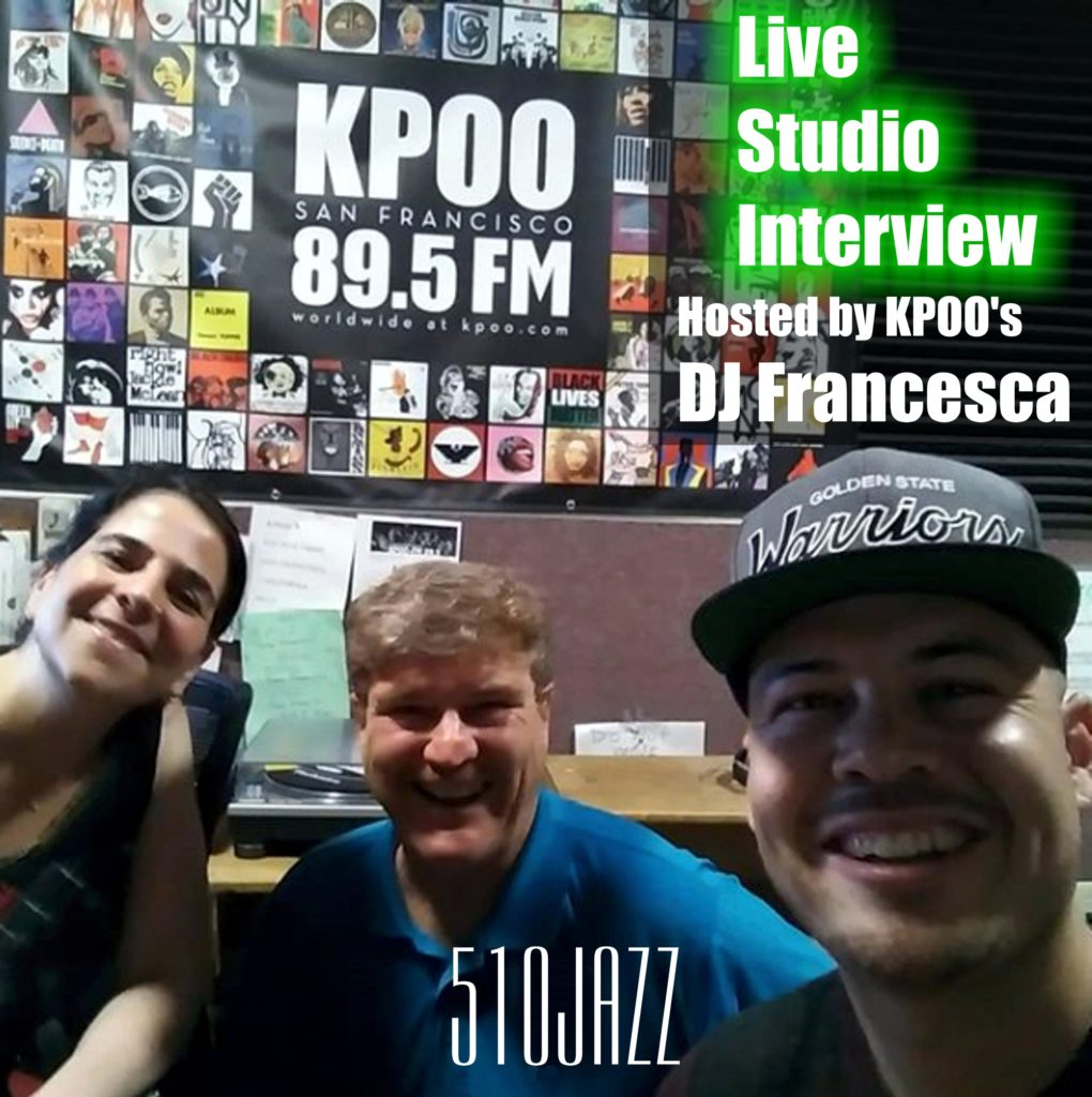 510JAZZ Interviewed On KPOO 89.5FM, Friday, October 25