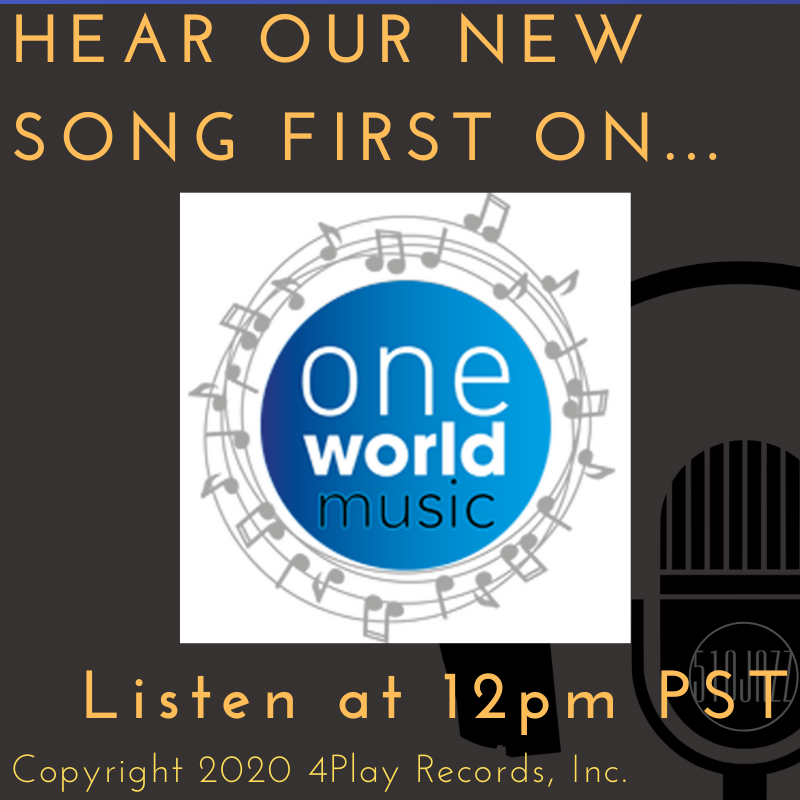 Hear our new song NOW on One World Music Radio
