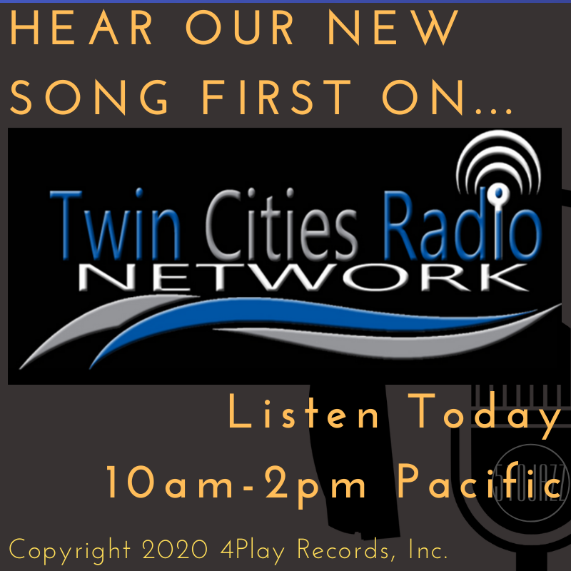 Hear Our Newest Song on Twin Cities Radio Network!
