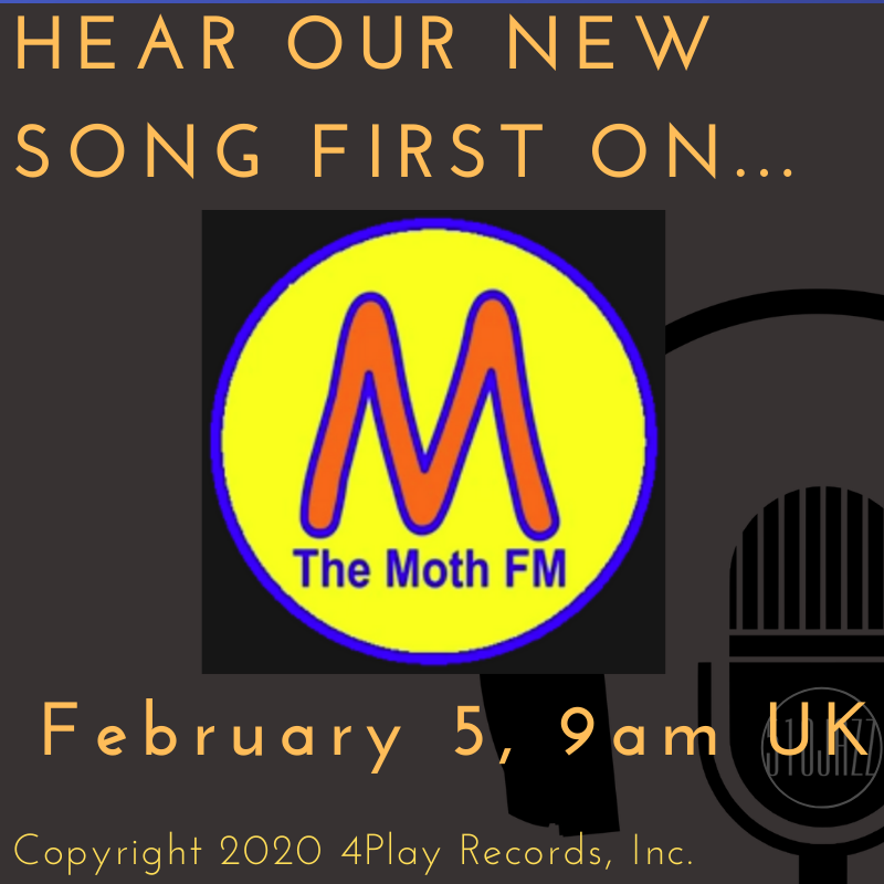 Hear our new song on The Moth FM!